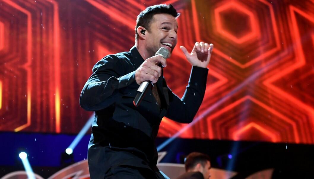 <strong>SUPERSTJERNE:</strong> Ricky Martin er en av verdens største latinosangere. Foto: Gustavo Caballero / Getty Images