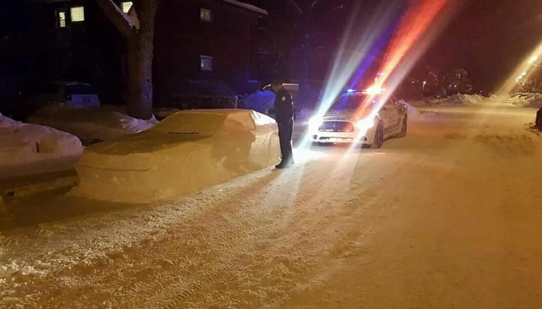 Denne «bilen» fikk politiet til å skrive ut «bot»