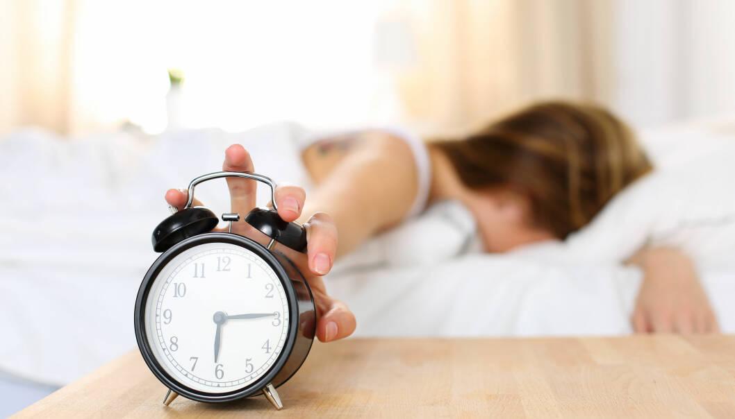 B-MENNESKE? Den biologiske klokken vår kan gjøre det vanskelig å komme seg opp om morgenen. FOTO: NTB Scanpix