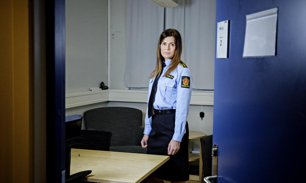 KRIPOS: Vibeke Schei Syversen, leder for Voldsseksjonen i Kripos kommenterer drapstallene for i fjor. Foto: Nina Hansen / Dagbladet