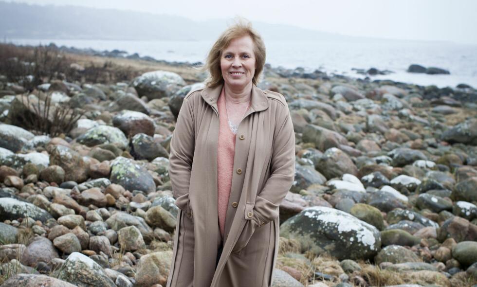 INSPIRASJON: Mariette Lindsteins krimdebut skal være inspirert av hennes egne erfaringer fra Scientologikirken. Foto: PATRIK LJUNGMAN / GYLDENDAL
