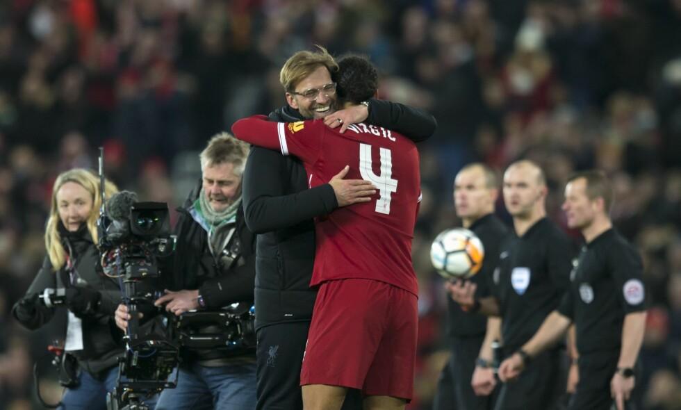 BYGGER STEIN FOR STEIN: Liverpool-manager Jürgen Klopp. Foto: Jon Super for FA/REX/Shutterstock/NTB Scanpix