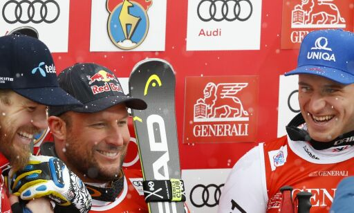 image: Svindal vant overlegent i Kitzbühel