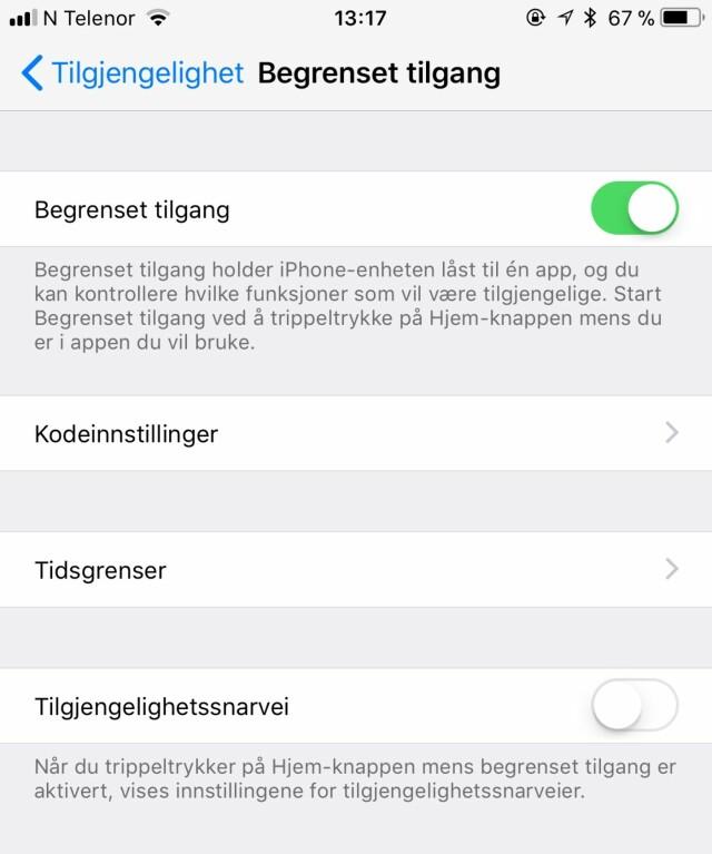 ba3e77224 Hvordan barnesikre iPhone og iPad - Gjør Apple-dingsen tryggere å ...