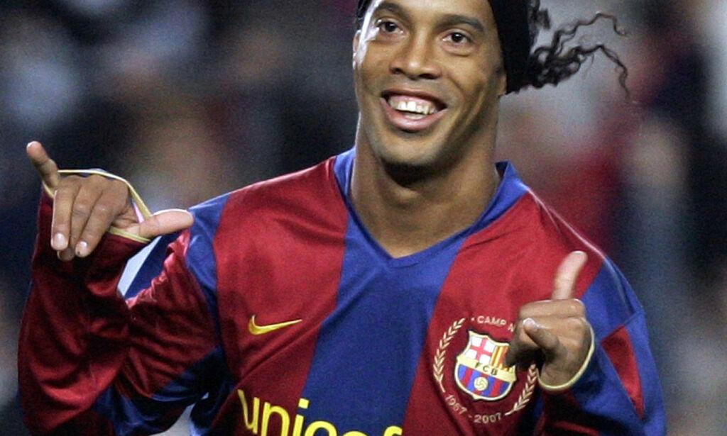 image: Slutt for Ronaldinho. Øyeblikkene som skapte legenden