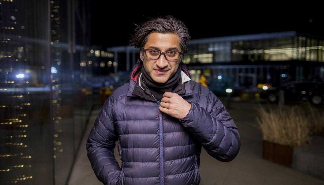 NYTT PROSJEKT: Dokumentarfilmskaper Asif Kapadia står bak de hyllede dokumentarene «Amy» og «Senna». Dagbladet møtte ham på Tromsø internasjonale filmfestival. Foto: Marius Fiskum / Dagbladet
