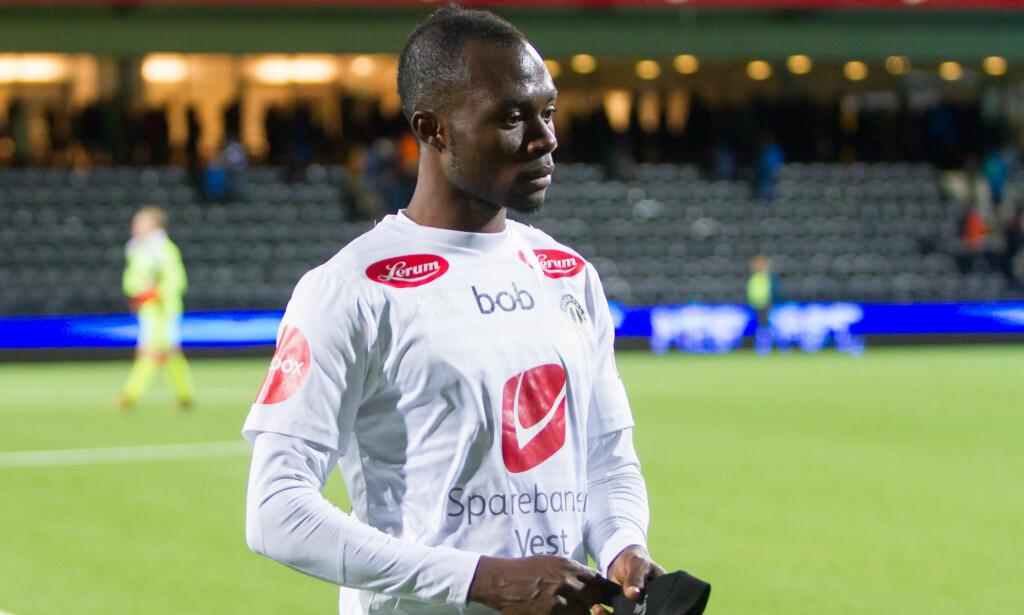 TIL BERGEN: Tidligere Sogndal-spiller Gilbert Koomson har signert for Brann. Foto: Christian Blom / NTB scanpix