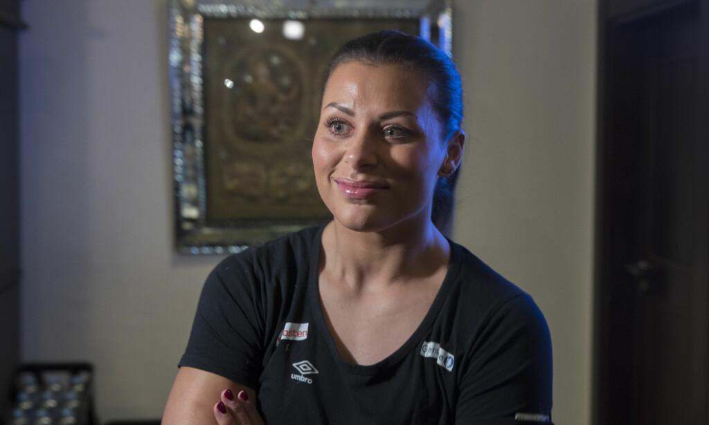 TILBAKE: Nora Mørk er tilbake i landslagsvarmen etter at hun og ledelsen i håndballforbundet har kommet til enighet. Foto: Vidar Ruud / NTB scanpix