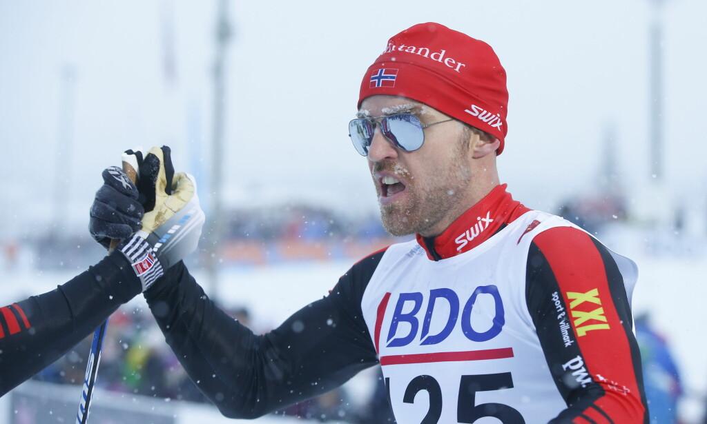 Beitostølen  20161118. Beitosprinten 2016 . 15 km klassisk menn. Tord Asle Gjerdalen på  herrenes 15 km klassisk Foto: Terje Pedersen / NTB scanpix