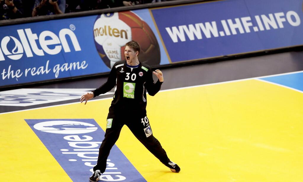 Paris 20170127: Håndball VM herrer, Frankrike 2017. Semifinale Kroatia - Norge 25-28 eeo. Torbjørn Bergerud.  Foto: Bjørn Langsem / Dagbladet