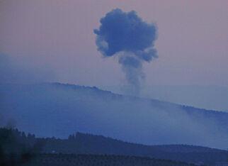 image: Tyrkiske kampfly bomber kurdisk milits i Nord-Syria