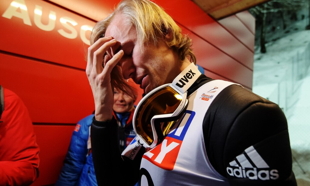 RØRT: Mange tanker gikk gjennom hodet etter seieren. Foto: Vegard Wivestad Grøtt / Bildbyrån