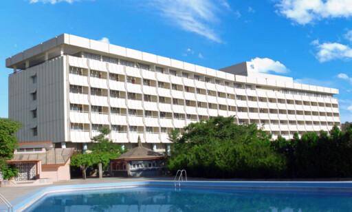 ANGREPET: Intercontinental Hotel i Kabul er hotellet som ble angrepet lørdag kveld. Foto: Intercontinental hotell