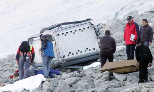 TRAGEDIE: Gondolulykken der ni personer døde skjedde i nærheten av Sölden i Østerrike i 2005. Foto: NTB scanpix