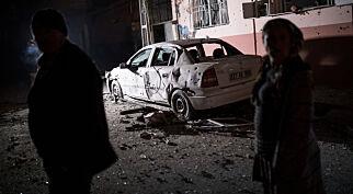 image: - Syriske raketter traff grenseby i Tyrkia