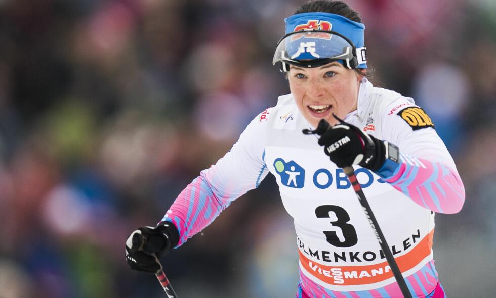 VANT: Krista Pärmäkoski vant 10 km klassisk i slovenske Planica. Her fra et tidligere renn i Holmenkollen. Foto: Jon Olav Nesvold / NTB scanpix