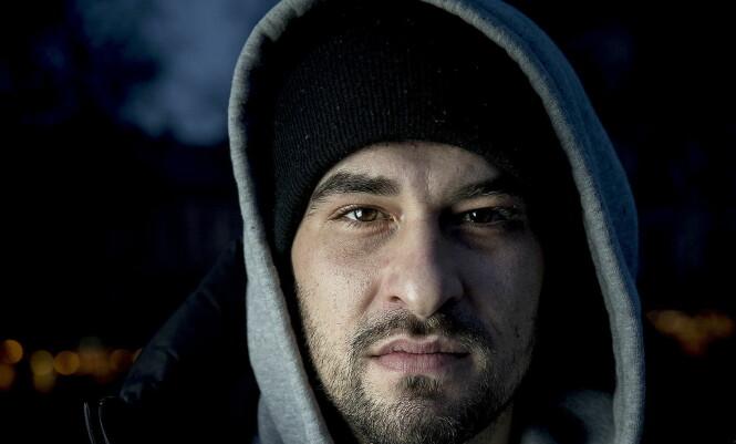 «ÅRETS FORBILDE»: Det var NRK-profilen Leo Ajkic som i kveld stakk av med prisen for «Årets forbilde» under Se og Hørs kjendisgalla. Foto: Bjørn Langsem / Dagbladet