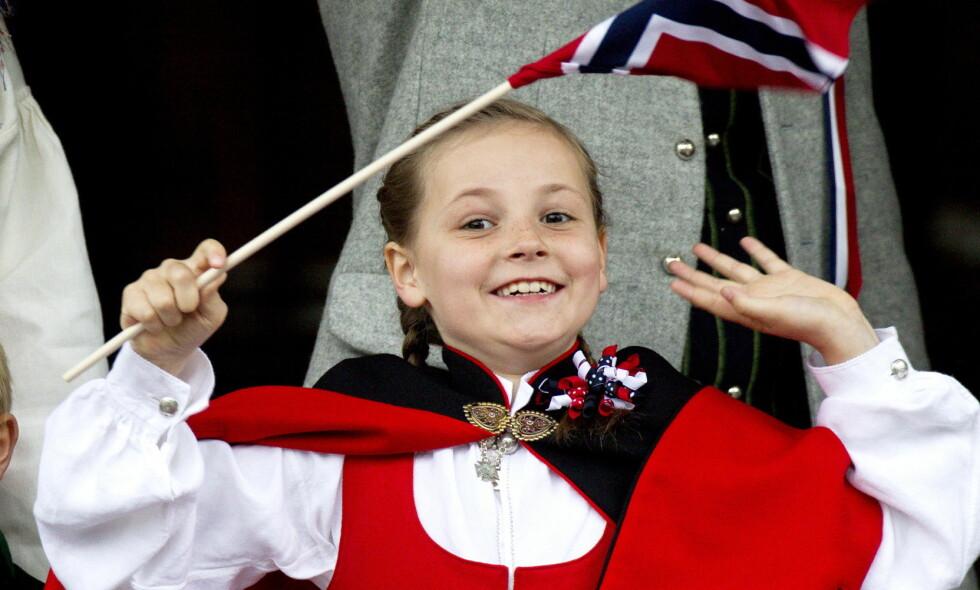 HURRA: I dag fyller prinsesse Ingrid Alexandra 14 år. Se og Hør gratulerer! Foto: Andreas Fadum