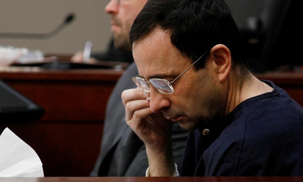 ALVORLIGE FORBRYTELSER: Larry Nassar har innrømmet overgrep på flere unge jenter. Foto: REUTERS/Brendan McDermid