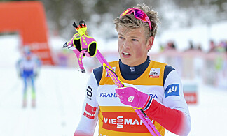 BESKJEDEN: Utad vil ikke Johannes Høsflot Klæbo si noe om hvilken etappe han vil ha og fortjener. Foto: Primoz Lovric / NTB scanpix