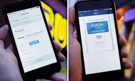 image: mCash på Bunnpris og MobilePay på Rema 1000