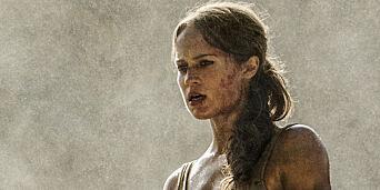image: Slik trente hun for å bli «nye» Lara Croft