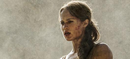 Slik trente hun for å bli «nye» Lara Croft