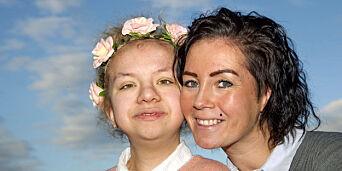 image: Nadia (13) lider av et sjeldent syndrom. - Livet hennes går i langsomt tempo