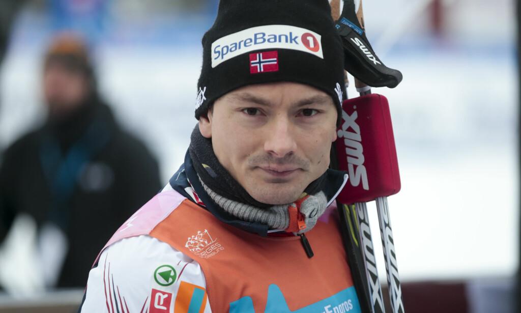 VRAKET: Før sesongen var Finn-Hågen Krogh sett på som kanskje den største norske gullkandidaten på 30km. Nå går han glipp av OL-starten, og må konsentrere seg om 15km enkeltstart i stedet. FOTO: Lise Åserud / NTB scanpix.