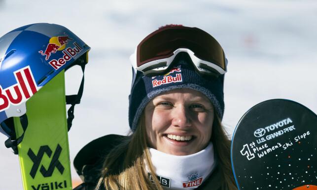 KOMMER TIL Å LEVERE: Fristilkjøreren Tiril Sjåstad Christiansen. Foto: Norges Skiforbund/NOR freeski / NTB scanpix