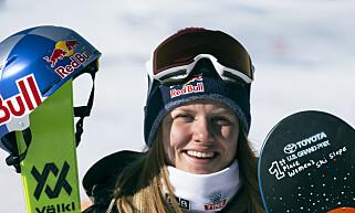SEIER: Fristilkjøreren Tiril Sjåstad Christiansen vant det siste verdenscuprennet i slopestyle før OL. Foto: Norges Skiforbund/NOR freeski / NTB scanpix