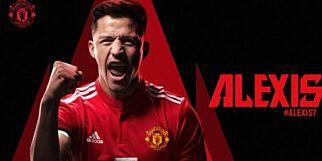 image: Endelig bekreftet: Alexis Sanchez er Manchester United-spiller