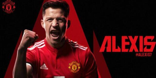 image: Alexis Sanchez klar for Manchester United