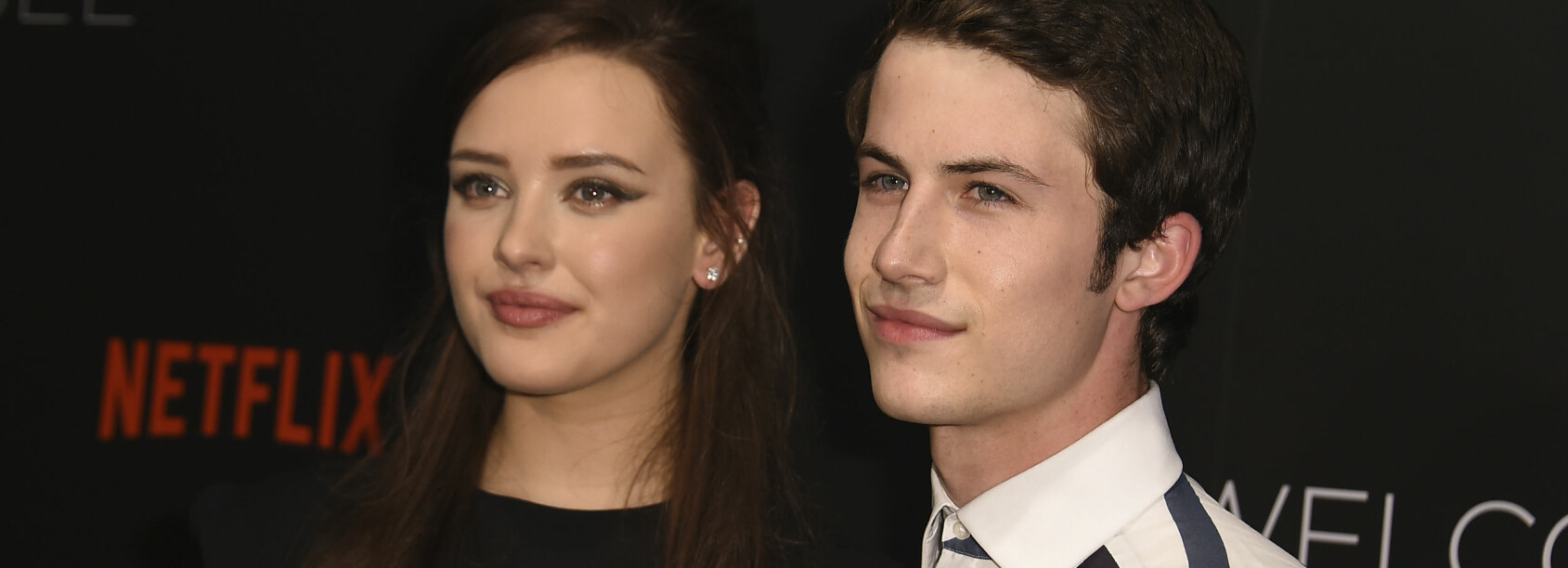 «13 REASONS WHY»: Hannah og Clay, spilt av Katherine Langford (t. v.) og Dylan Minette (t. h.) kommer til å ha svært få scener sammen i sesong to av Netflix-serien. Dét avslører Dylan selv i et nytt intervju. FOTO: Scanpix