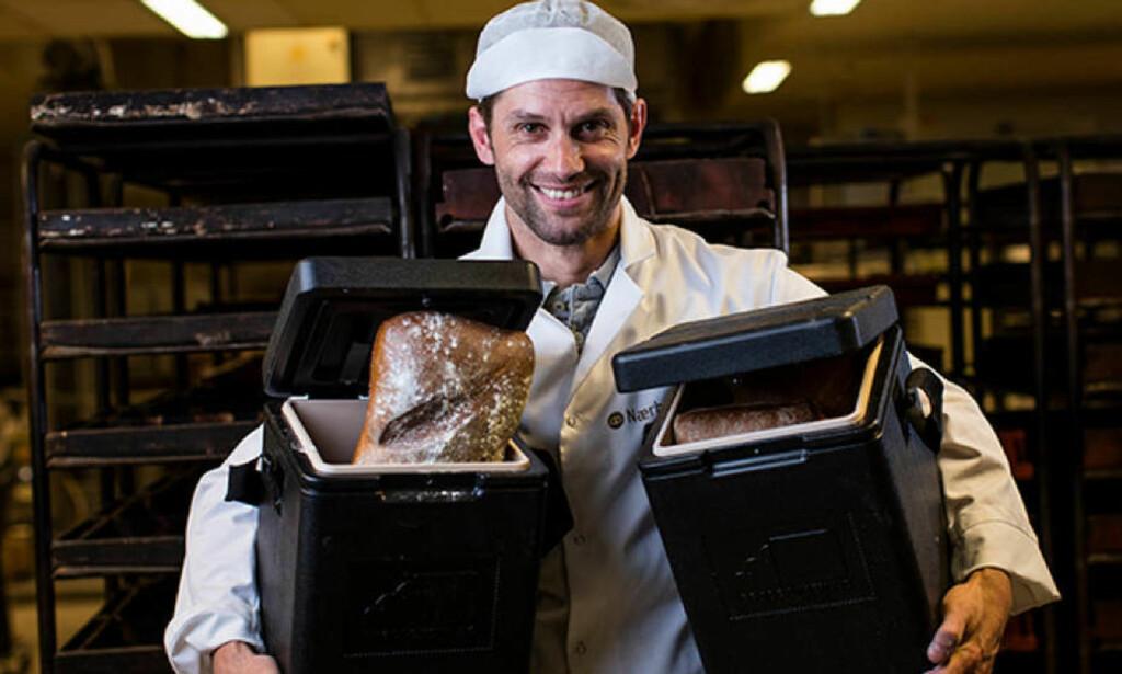 GRÜNDER: Arnulf Refsnes startet opp Brødboksen.no. Nå avvikles bedriften. Foto: Pressefoto
