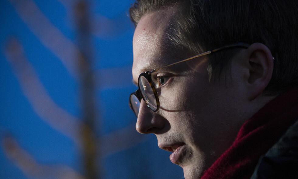 SAKER SKAL UNDERSØKES: Tidligere Unge Høyre-leder Kristian Tonning Riise er anklaget for voldtekt. Foto: Håkon Mosvold Larsen / NTB scanpix