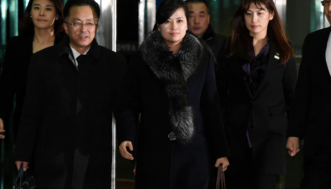 DELTOK: Hyon Song Wol, Nord-Koreas kanskje største popstjerne, var i helga på besøk i Sør-Korea. Foto: Yonhap