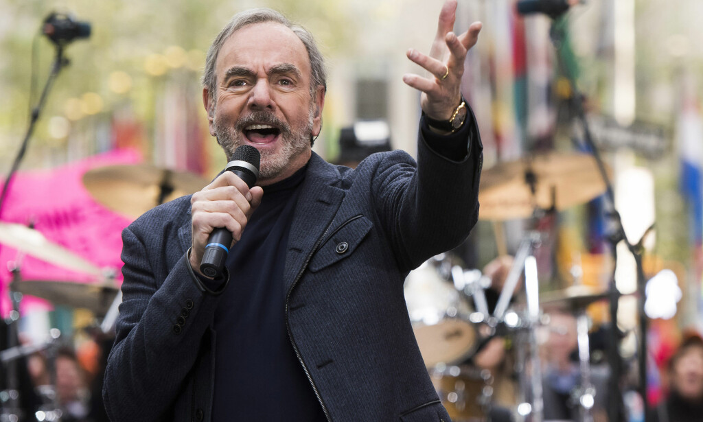 Neil Diamond under en opptreden på NBCs «Today»-show i 2014. Foto: Charles Sykes/ AP / NTB scanpix.