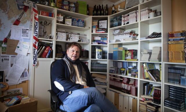 NYE METODER: Jørn Lier Horst peker på nye metoder i drapsetterforskning. Foto: Anders Grønneberg / Dagbladet