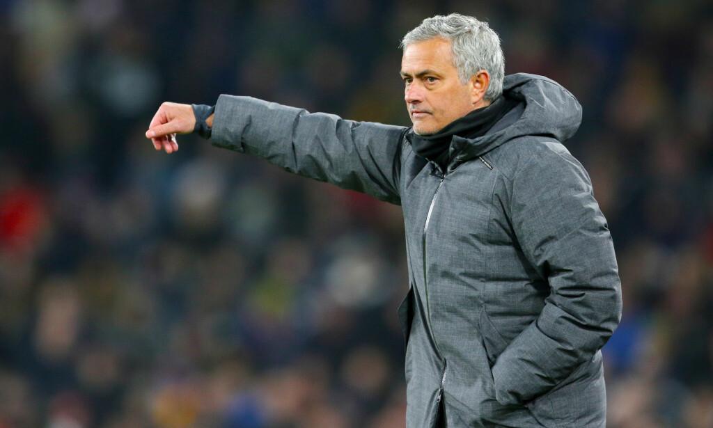 LOVER SPILLETID: Manchester United-manager José Mourinho. Foto: NTB Scanpix