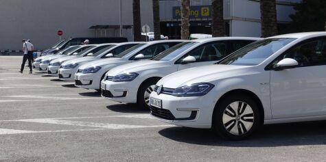 image: Volkswagen sliter med leveringen av e-Golf