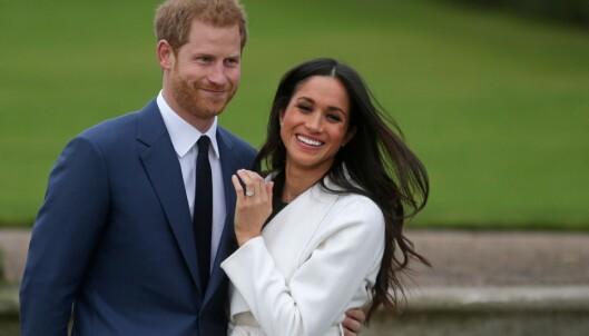 <strong>NESTE PAR UT:</strong> Meghan Markle og prins Harry gifter seg 19. mai. Foto: AFP Photo / NTB scanpix