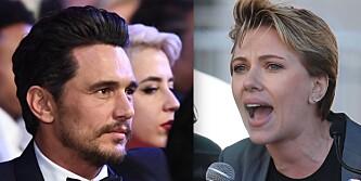 Scarlett Johansson i hardt vær etter angrepet på James Franco