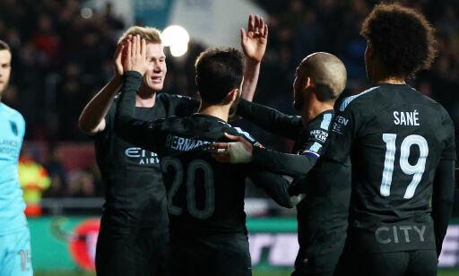 image: Manchester City fikk skremmeskudd på tampen - klare for ligacupfinale