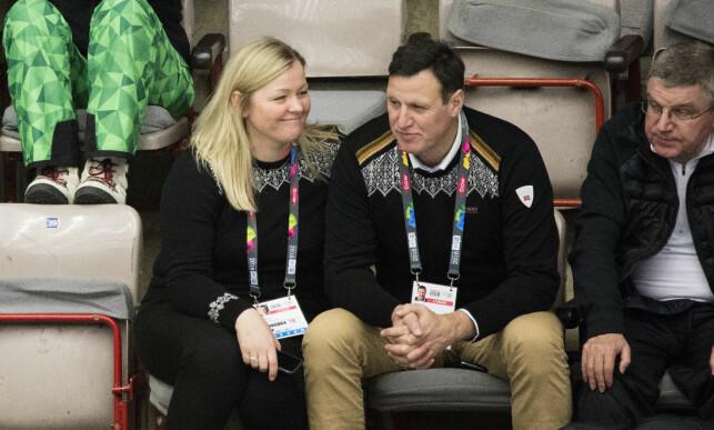KAOSTID: Kjersti Stenseng og Tom Tvedt under Ungdoms-OL i 2016. Foto: Geir Olsen / NTB scanpix