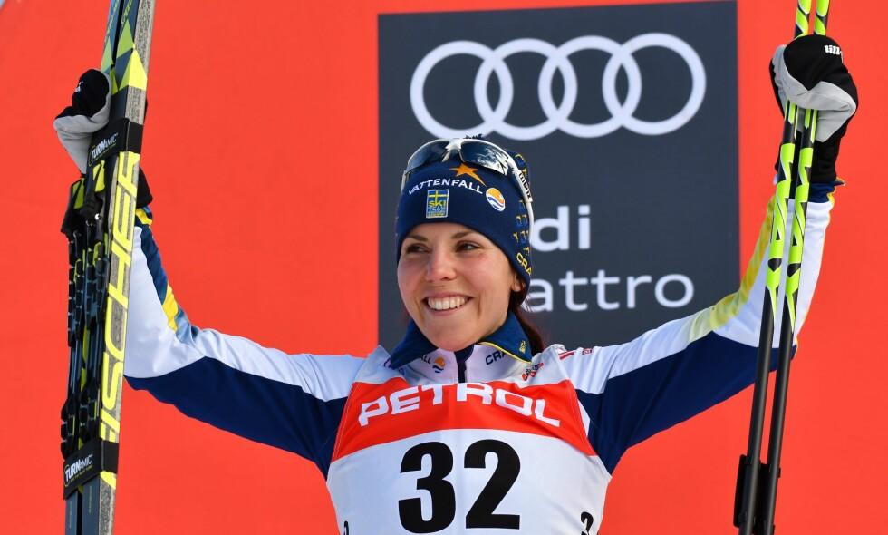 OL-HÅP: Charlotte Kalla er kanskje svenskenes fremste OL-håp. Foto: Andrej Tarfila/REX/Shutterstock