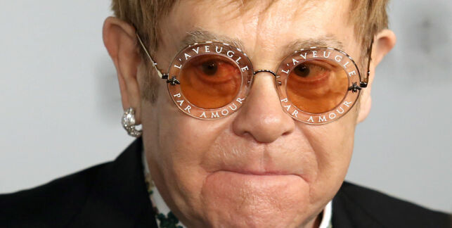 An Enduring Vision 2017 - New York . Elton John attends the EJAF's An Enduring Vision Gala at the Cathedral of St. John the Divine in New York.  URN:33629552