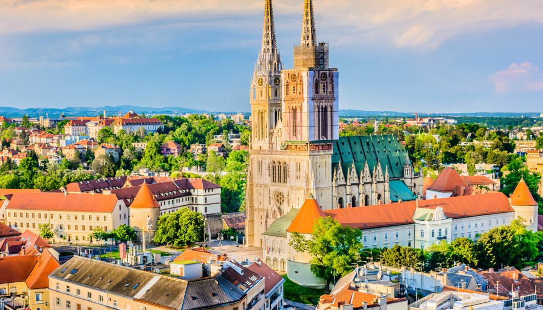 Zagreb Foto: Scanpix