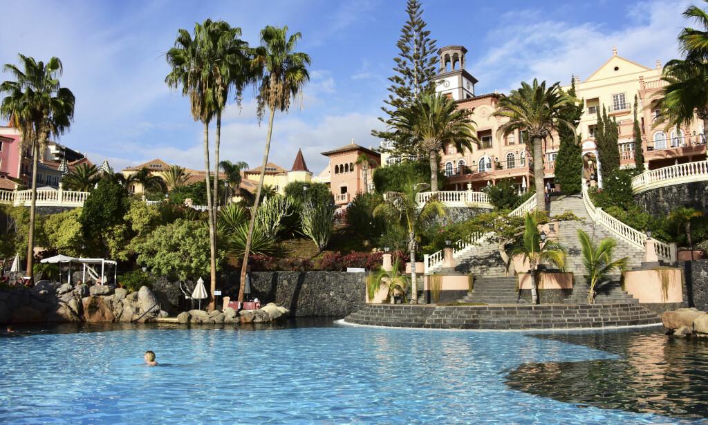 JUBILANT: I år et det 25 år siden det første luksushotellet åpnet på Costa Adeje. Bahia del Duque er fortsatt et av Spanias aller beste hotell. Foto: Torild Moland / Magasinet Reiselyst