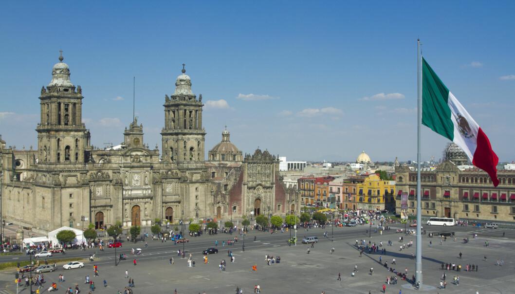Mexico City Foto: Scanpix